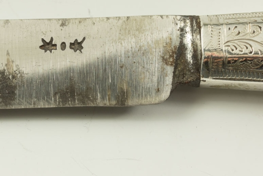 Huismerk van de ijzersmid|Maker's mark of the iron smith